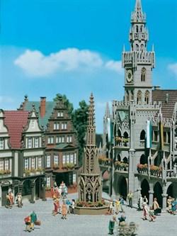 43758 Городской фонтан - фото 4917