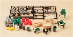 42556 Аксессуары стройплощадки (59 элементов) (H0/TT) - фото 5039