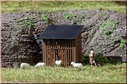 42636 Загончик для овец (2шт.) (H0/TT) - фото 5045