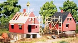 12215 Строящиеся домики (2 шт.) (Н0/ТТ) - фото 5474