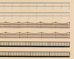 42558 Железный забор и железные перила (H0/TT) - фото 5516