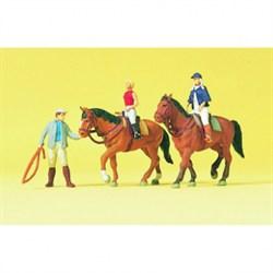10502 Наездники, лошади - фото 5735