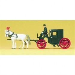 30452 Лошади со свадебной каретой   - фото 5752