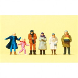 14037 Люди в зимней одежде  - фото 5768