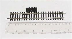 ST-205 Рельсы прямые 168мм с изолирующим выключателем - фото 5869