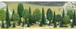 6590 Смешаный лес деревья 30-55мм (10+25шт) - фото 6054