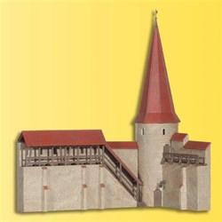 38915 Городская стена с башней - фото 6081