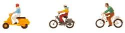 151079 Велосипедисты и скутеристы - фото 6087