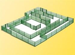 38603 Забор из металлической сетки 280см зеленый - фото 7258