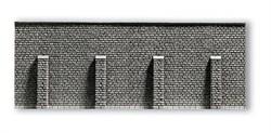58056 Стена с пилонами 33,5 х 12,5см - фото 7341