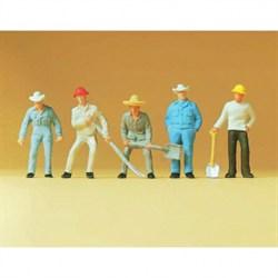 14017 Рабочие на путях  - фото 7486