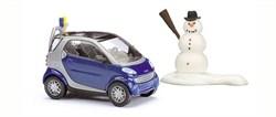 48918 Smart Citi-Coupe (с лыжами и снеговиком) - фото 7553