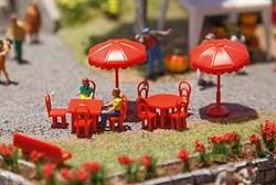 180910 Зонты, столы, стулья, скамейки (29 шт.) - фото 7579