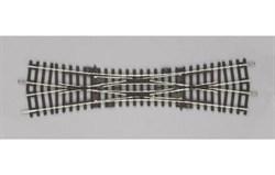 55224 Двойная перекрестная стрелка DKW 239,07 мм. 15°  - фото 7726