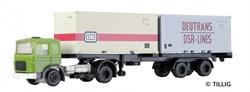 08712 MAN mit Containerauflieger  - фото 8955