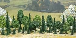 6490 Смешанный лес деревья 50-110мм (35шт) - фото 9023