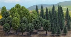 6491 Смешанный лес деревья 50-125мм (50шт) - фото 9024
