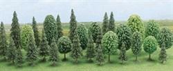 6489 Смешанный лес деревья 60-135мм (30шт) - фото 9025