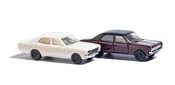 8332 Opel Rekord беж и вишня - фото 9064