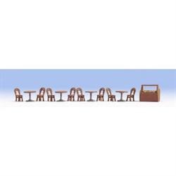 14824 Столы и стулья в кафе - фото 9111