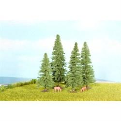 25232 Елки деревья 4шт.,8-12см - фото 9168