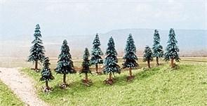 6509 Деревья Ели 30-50мм 10шт.