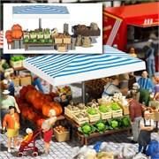 1070 Овощной рынок 1 (без фигурок)