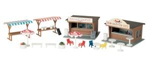 11352 Рыночные и закусочные палатки
