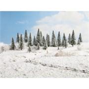 26928 Ели в снегу деревья 50-140мм (10шт.)