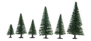 32920 Ели деревья 35-90мм (10шт.)