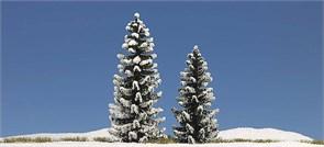 6152 Ёлки в снегу (2) деревья 90+120мм