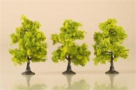 70935 Деревья лиственные (3) светло-зеленые 7 см
