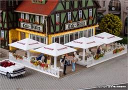 45138 Зонты уличные для пивной, кафе