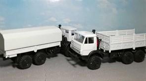 RUSAM-KAMAZ-4310-20-000 Грузовой автомобиль КамАЗ 4310 борт/тент (зеркала), 1:87, 1976—2001, СССР