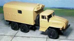 RUSAM-URAL-4320-51-400 Автомобиль Урал 4320 кунг с вент. установкой, 1:87, 1977, СССР