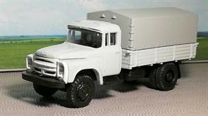 RUSAM-ZIL-130-15-500 Автомобиль ЗИЛ 130 бортовой крытый (белый), 1:87, 1963—1986, СССР