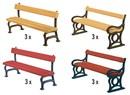 180443 Парковые скамейки 12 шт.