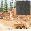 7524 Песок гравий темно-серый 320г