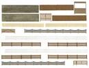6017 Заборы, стены, ворота (набор)
