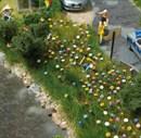 1229 Летние цветы 120шт.
